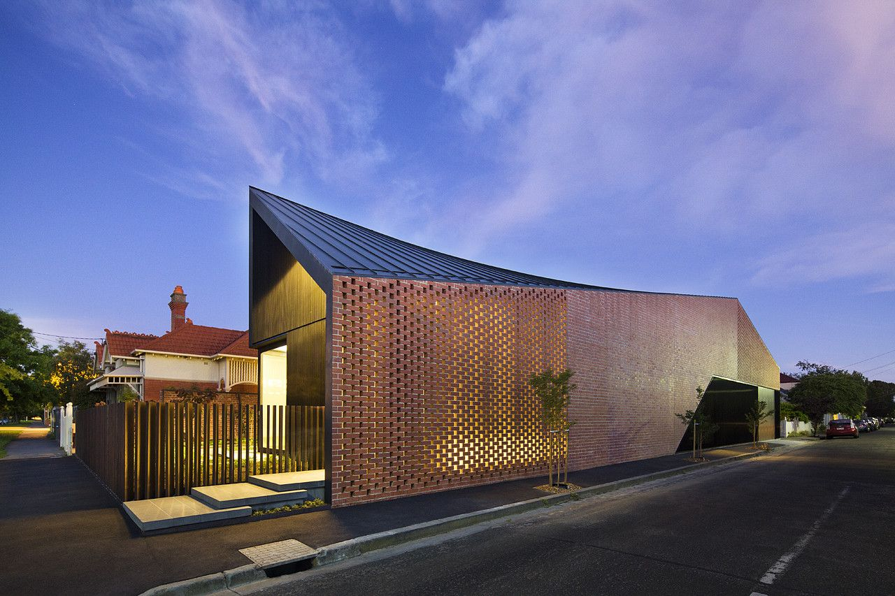 Harold Street Residence Perforated Facade