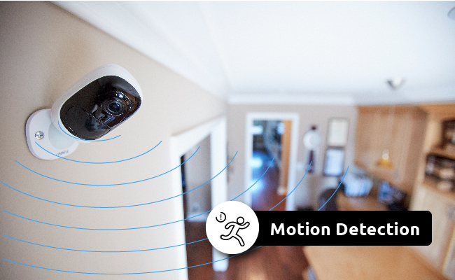 Motion Sensor Security Camera