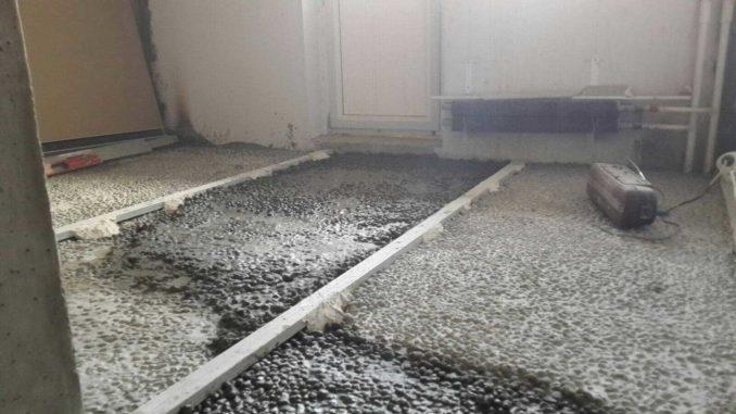Расчет стяжки из керамзитобетона бетон и растворы где купить