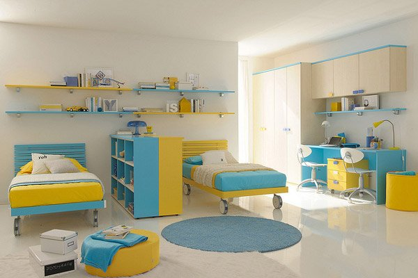 Exciting Kid Bedroom Design