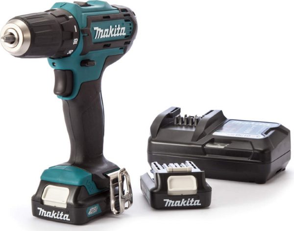 Makita DF333DWYE4 Li-Ion 1.5 А·ч 10.8 В х2 кейс 30 Н·м