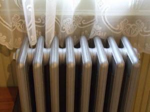 the heating system of the closed type