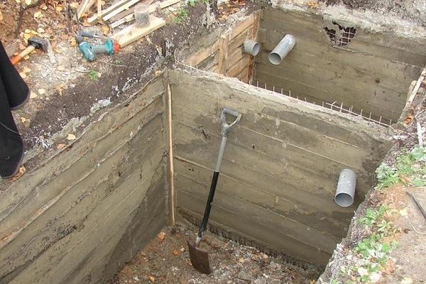 Септики из бетона купить сверло по бетону для перфоратора