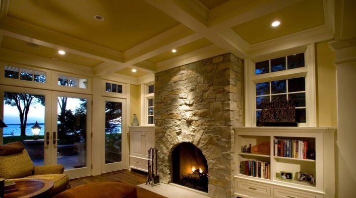 Гостиная в доме дизайн фото с камином – Дизайн гостиной с камином в доме (фото, видео) | Оформление камина в частном, загородном, деревянном доме