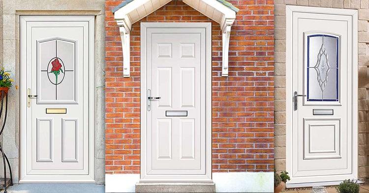 Металлопластиковые двери (28 фото окна и входные двери