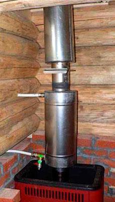 Теплообменник водяной для печи – Теплообменник в печь для отопления своими руками