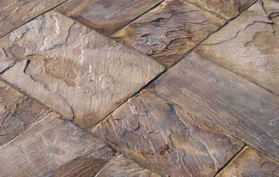 кислотное окрашивание бетона