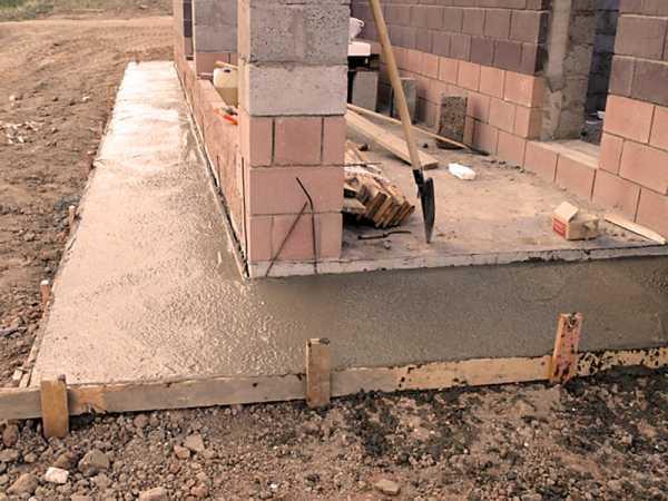 Уклон бетона смесь для бетона на фундамент купить