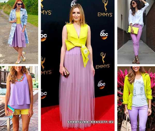a6b922674e1 Сочетание цветов фиолетовый и желтый и – Шпаргалка по сочетаниям ...
