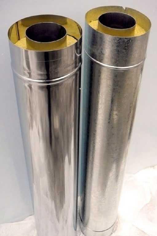 Сендвичные трубы для дымохода кострома дымоходы из профнастила фото